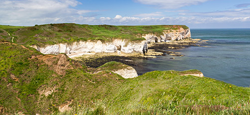 Flambourough Head which will appear in the second phase of the English Coast Path in Yorkshire.
