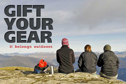 Gift your walking and outdoors gear
